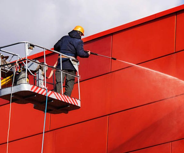 Commercial Pressure Washing Makes Your Business Like New