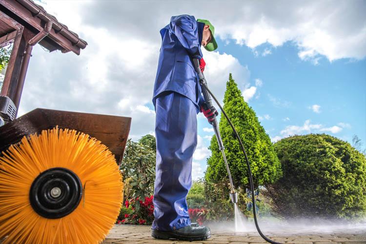 Driveway Pressure Washing Services