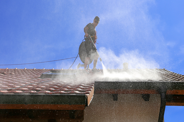 Low-pressure Soft Wash Roof Cleaning Services